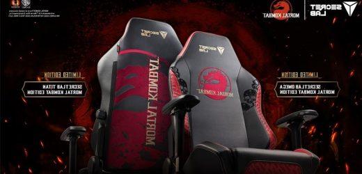 Secretlab's New 'Mortal Kombat' Gaming Chairs Are Toasty