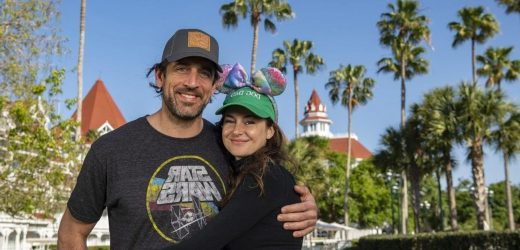 Shailene Woodley and Aaron Rodgers Cuddle Up in Cute Disney World Pics