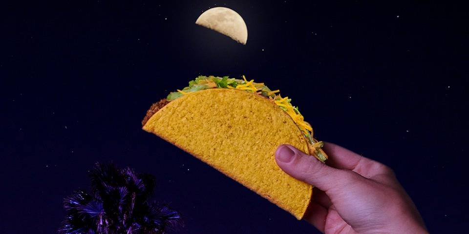 Taco Bell Is Giving Away Free Crunchy Tacos to Celebrate a New Lunar Phase