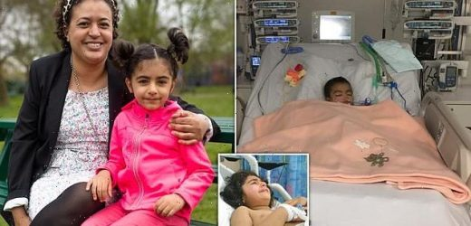 Toddler leftwith a hole in her oesophagus after swallowing a battery