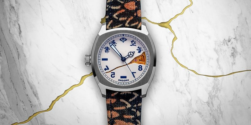 UNDONE x Simple Union Watches Reflect on Ancient Japanese Crafts
