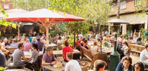 When do beer gardens open again?