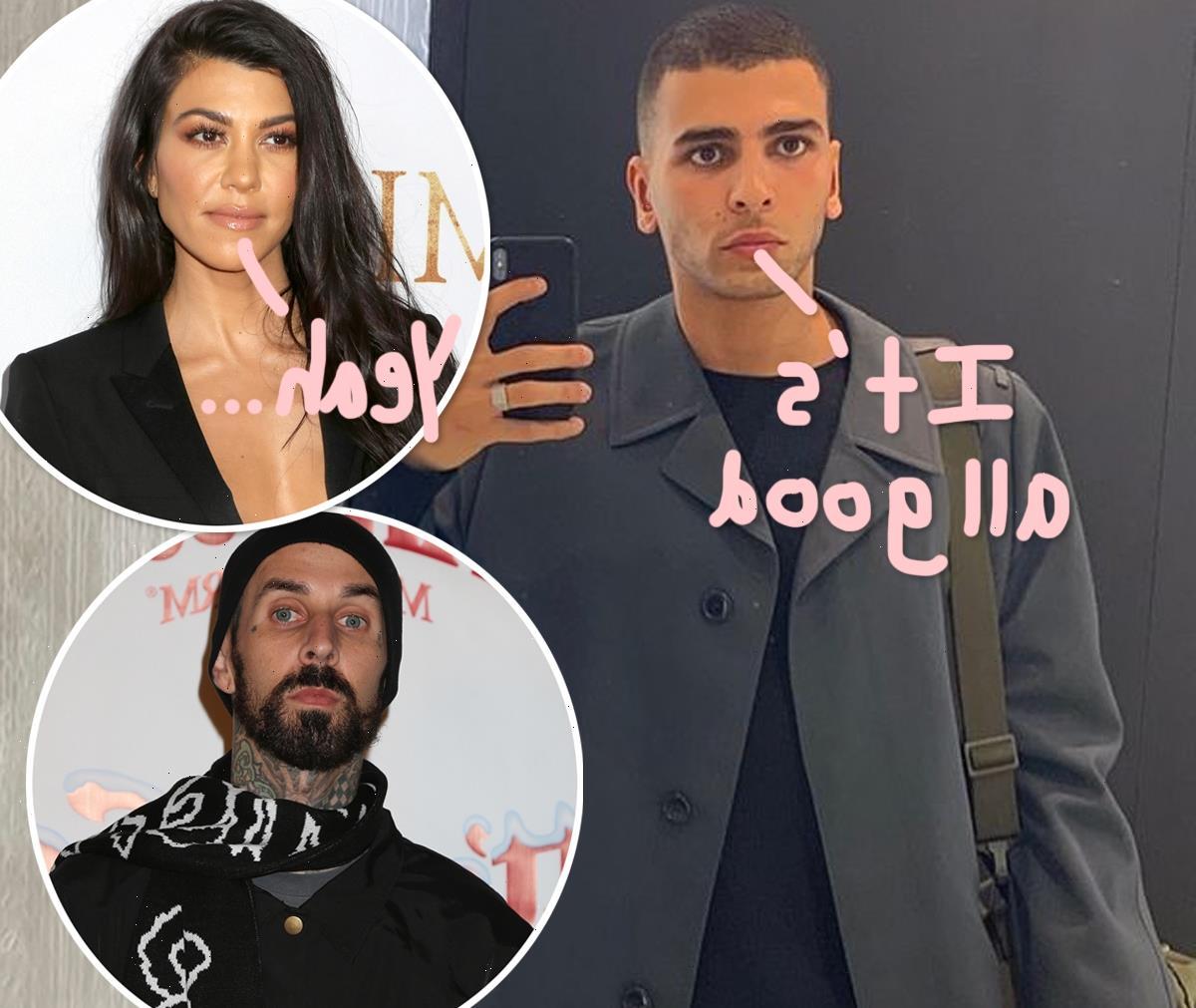 Younes Bendjima Denies Shading Kourtney Kardashian & Travis Barker: 'Keep Me Far Away From All That'