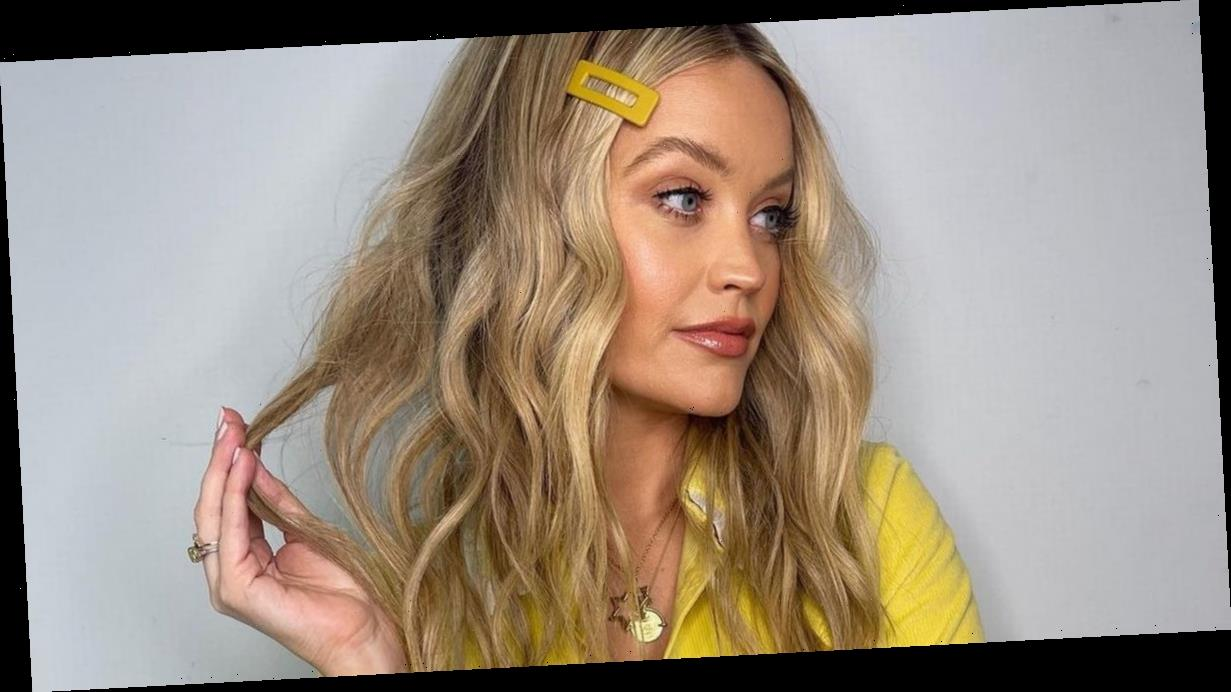 Laura Whitmore wows in glam snap for Celeb Juice return days after giving birth