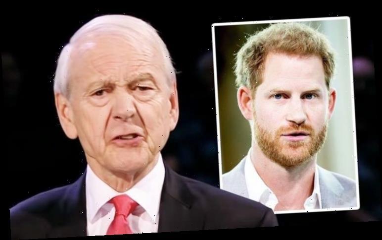 John Humphrys branded Prince Harry 'sanctimonious, selfish' and 'with unimaginable luxury'
