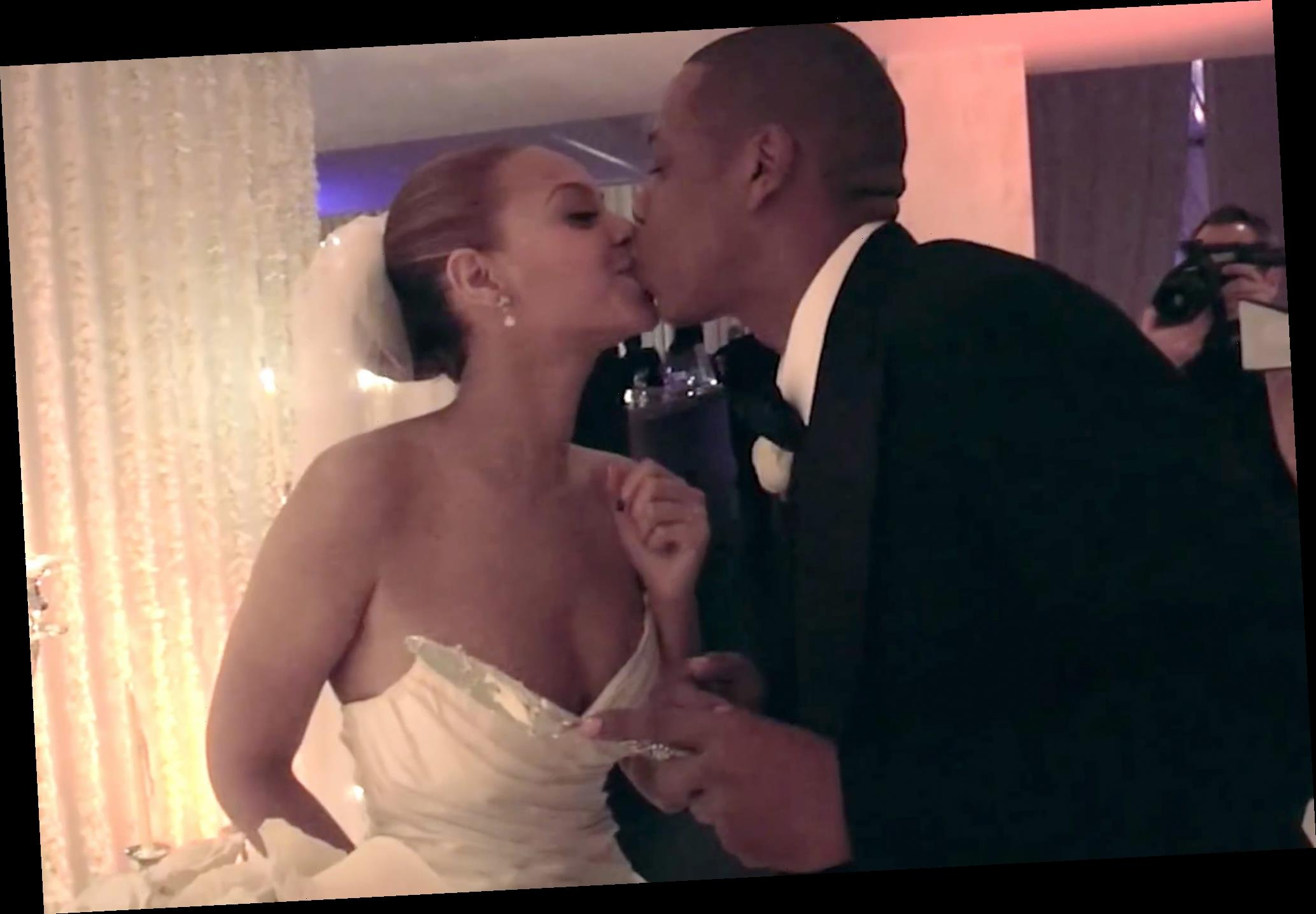 All the Wedding Videos & Photos Beyoncé & JAY-Z Have Shared in Honor of Their 13th Anniversary