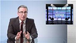 """'Last Week Tonight': John Oliver Advertises """"World's First Sexual Wellness Blanket"""" In Crusade Against Sponsored Content"""