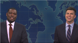 'SNL's Weekend Update Tackles Matt Gaetz & Marilyn Manson Scandals & Reminisces About Tumult Of Past Year, While Contemplating Better Days Ahead