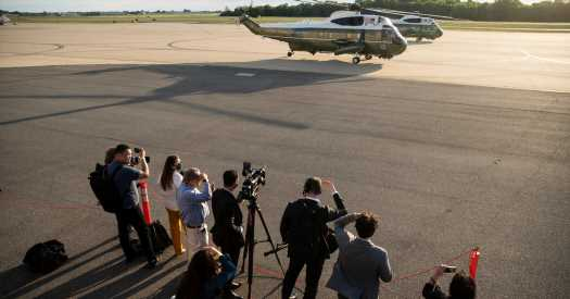 A White House Correspondent Gets Back in the Pool (Van)