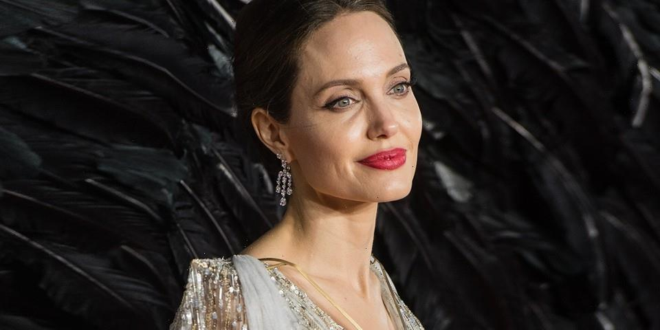 Angelina Jolie Reveals She Didn't Shower for Three Days Before Epic Live-Bee Portrait