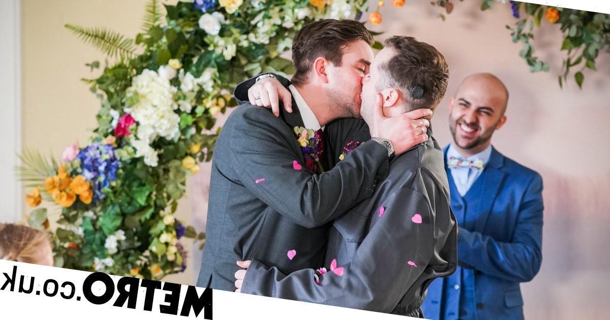 Ben and Callum get married in romantic scenes in EastEnders