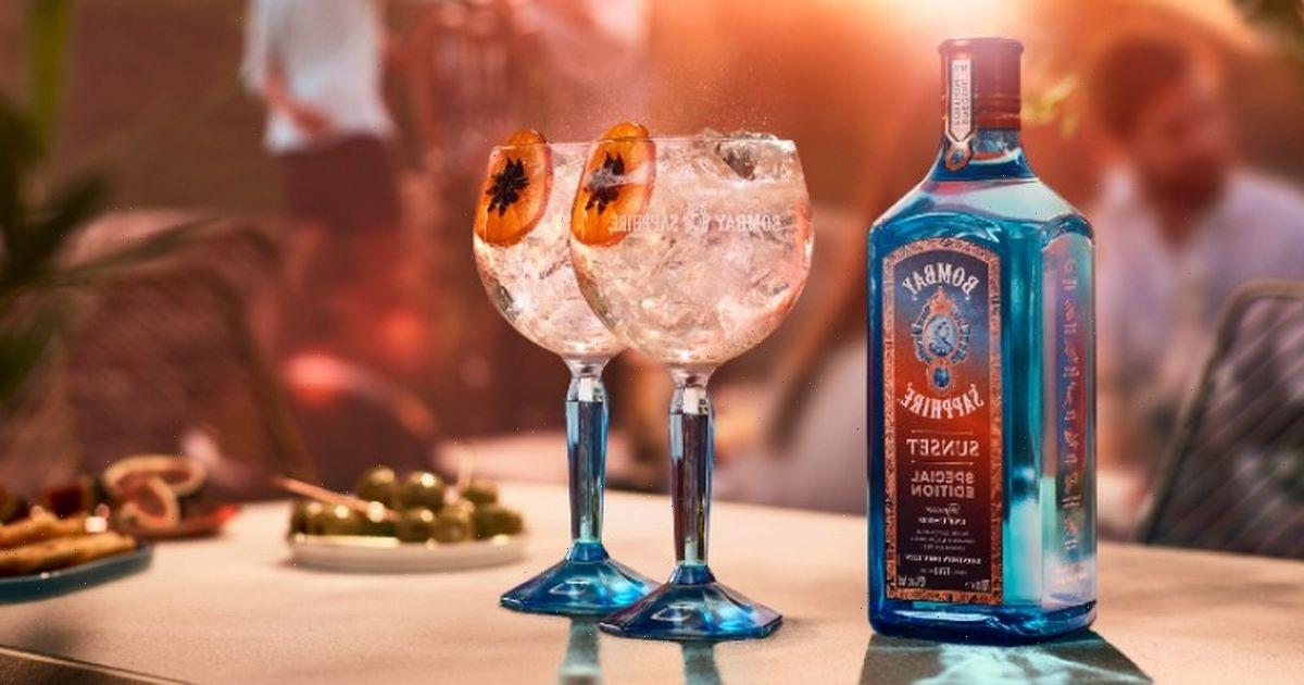 Bombay Sapphire launches new aromatic 'Sunset' infusion for summer cocktails