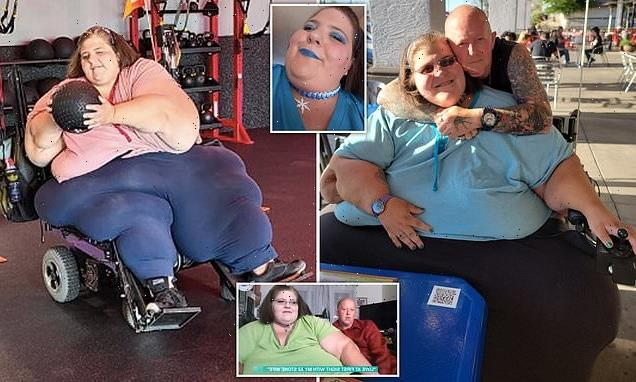 Brit moves to the US become the sole carer for his 52-stone wife