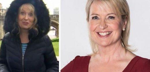 Carol Kirkwood admits she feels 'bedraggled' as she addresses downside of BBC role