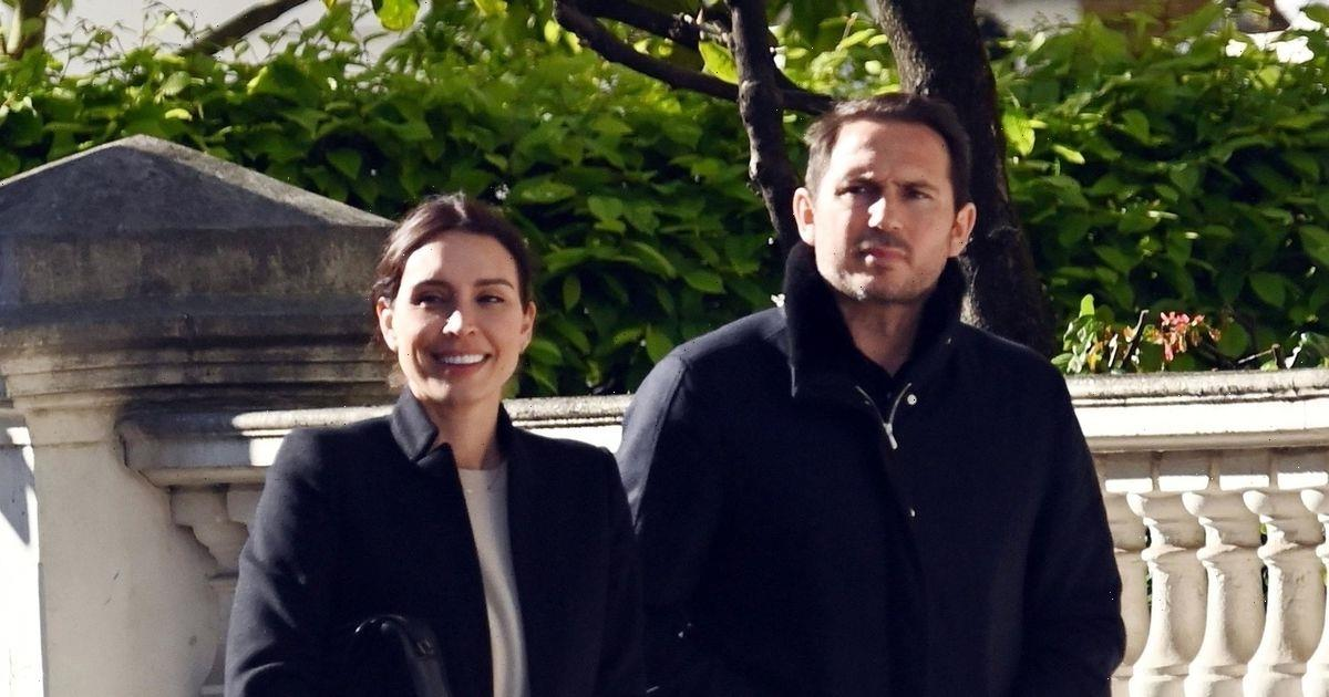 Christine and Frank Lampard take a break from baby duties for romantic lunch date