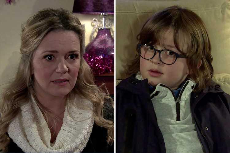 Coronation Street spoilers: Natasha Blakeman horrified as she's forced to keep son Sam's kidnapping a secret