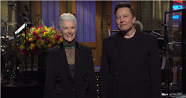 Elon Musk Hosts a Mother's Day Episode of 'Saturday Night Live'
