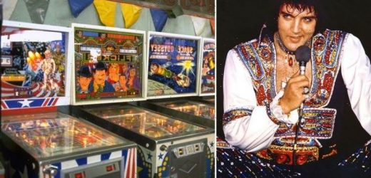 Elvis Presley: Graceland's rigged pinball machine The King played with his Memphis Mafia