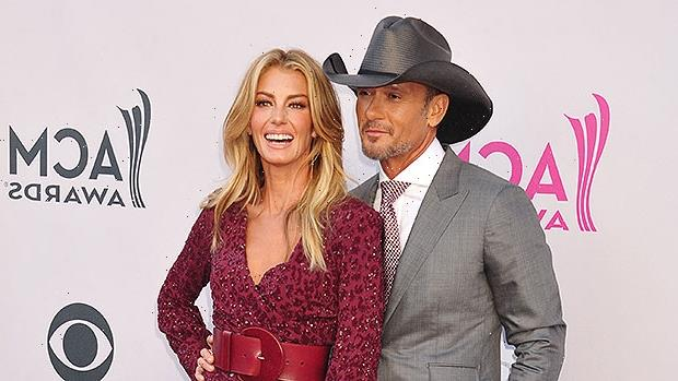 Faith Hill Wishes Her 'One & Only' Tim McGraw A Happy 54th Birthday With PDA Filled Throwback — See Pic