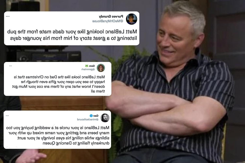 Friends reunion star Matt LeBlanc goes viral as fans insist he looks like a typical Irish dad