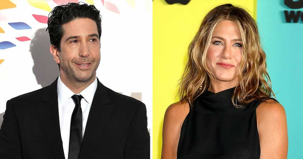 Jennifer Aniston and David Schwimmer Reveal 'Major Crush' They Had During 'Friends'