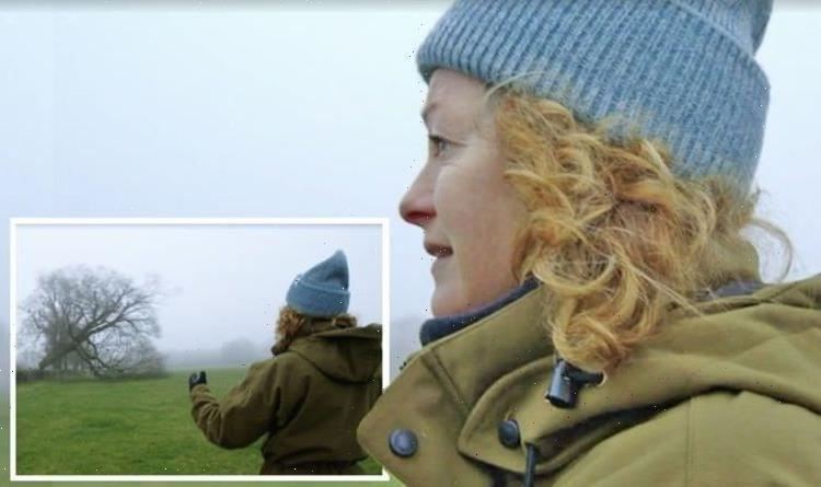 Kate Humble 'devastated' as she watches destruction of prized tree 'Breaks my heart'