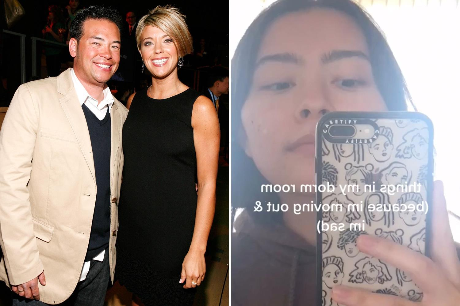 Kate and Jon Gosselin's daughter Mady, 20, admits she is 'sad' as star moves out of college