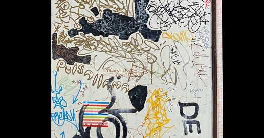 Keith Haring's Fabulous Friends Left Their Mark on His Fridge Door