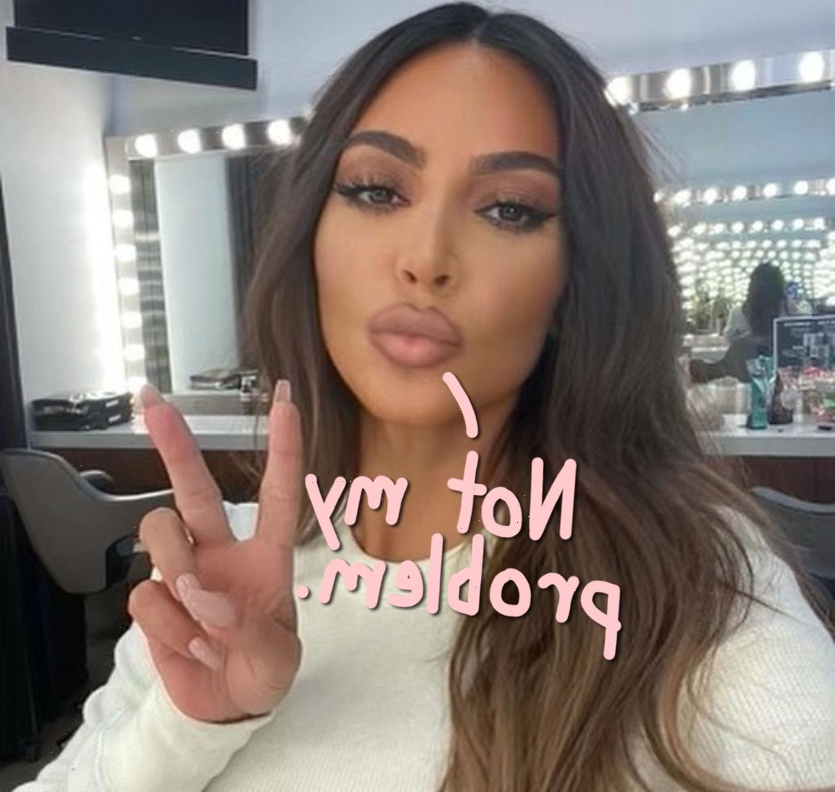 Kim Kardashian Claims She's 'Not Responsible' For Domestic Staff Lawsuit – Here's Her Reasoning