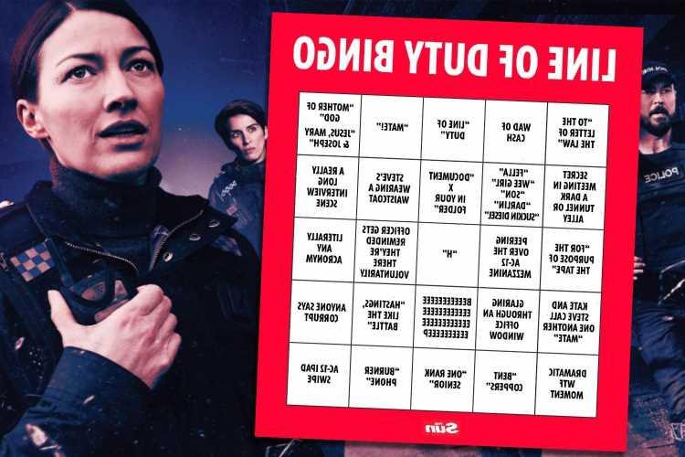 Line of Duty bingo: How to play while watching season six of the BBC drama