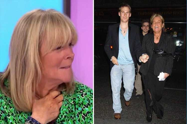 Loose Women's Linda Robson reveals X-rated snog with Blue's Lee Ryan that horrified her husband