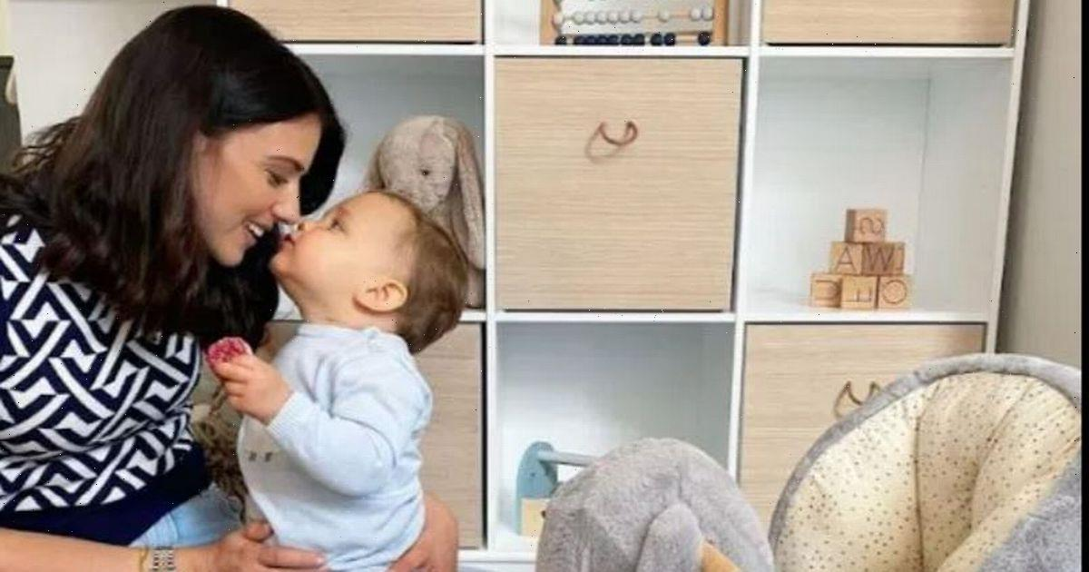 Lucy Mecklenburgh completely transforms son Roman's play room with ball pit and artwork and it looks amazing