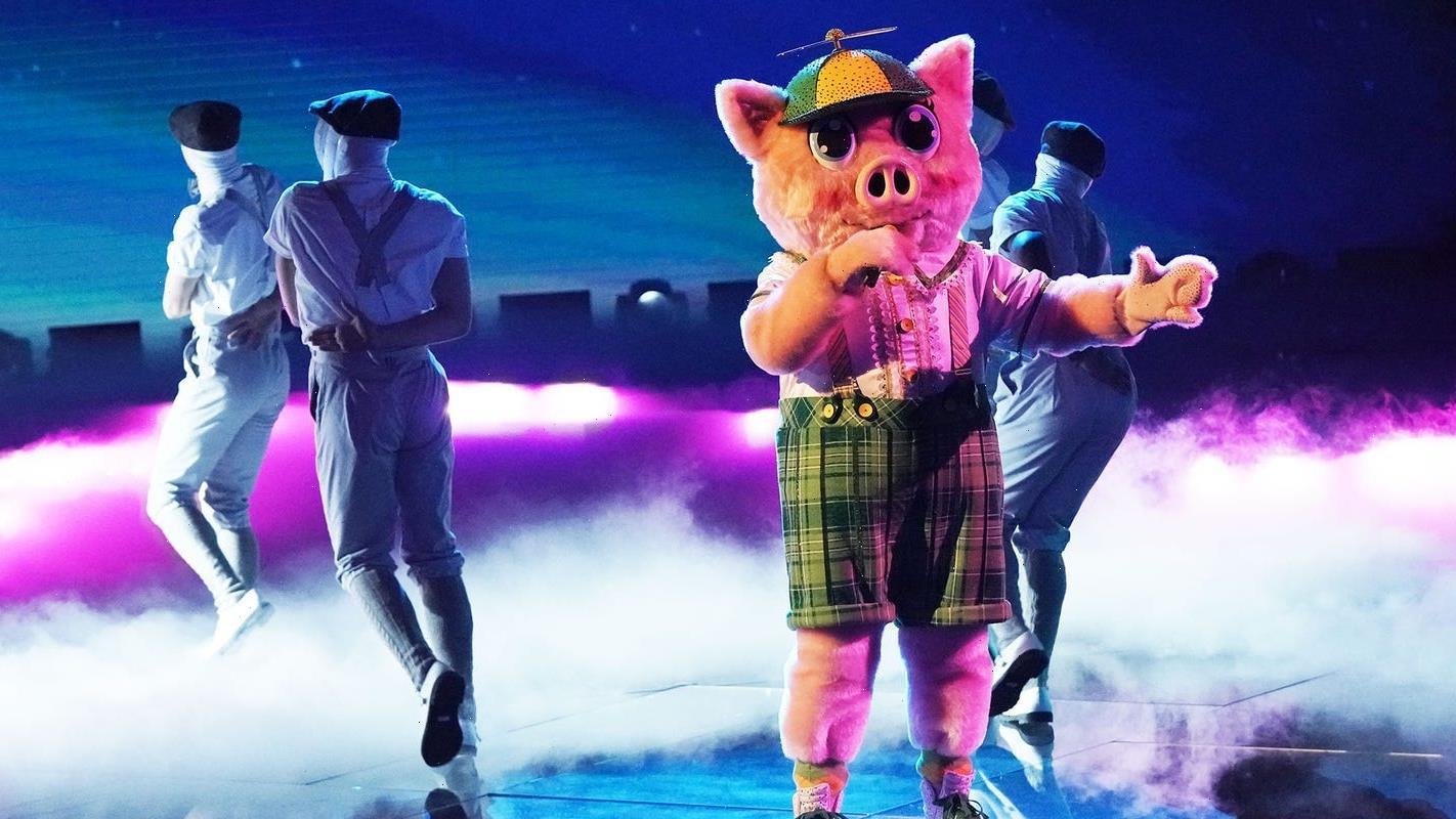'Masked Singer' finale: Piglet roasts competitors, is revealed with Chameleon, Black Swan