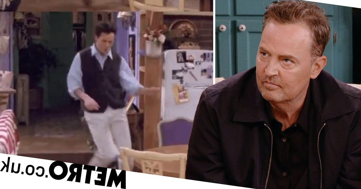 Matthew Perry celebrates Friends Reunion after sharing heartbreaking memory