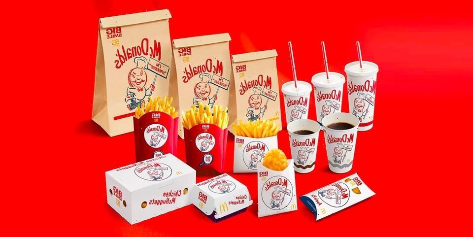 McDonald's Brings Back Original Speedee Mascot in Japan