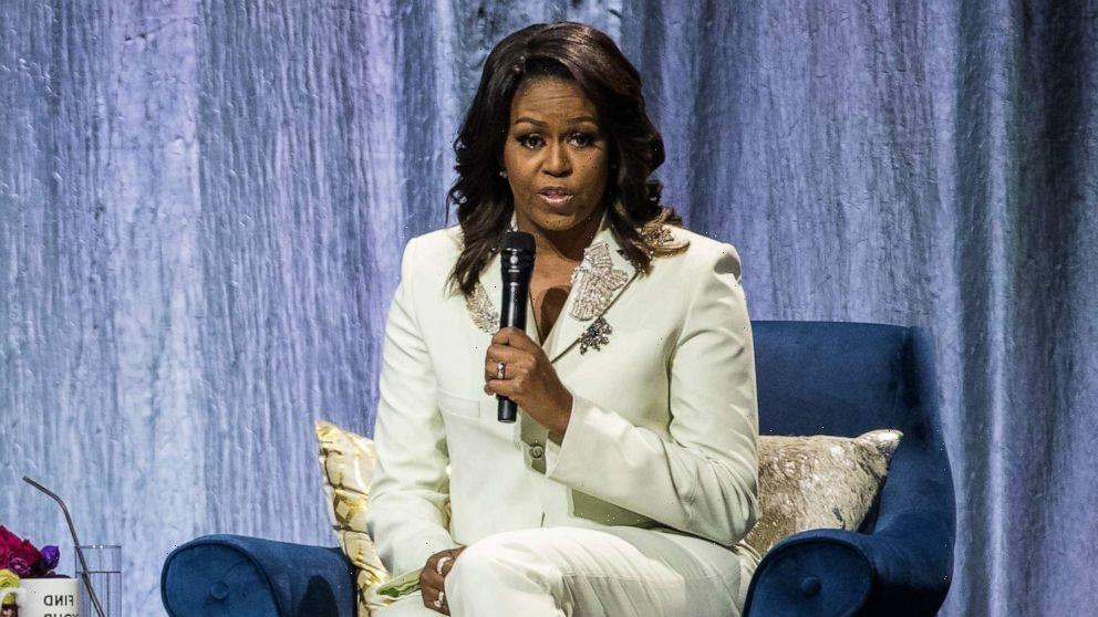 Michelle Obama shares advice for Girl Scouts as they launch program based on her bestselling memoir 'Becoming'