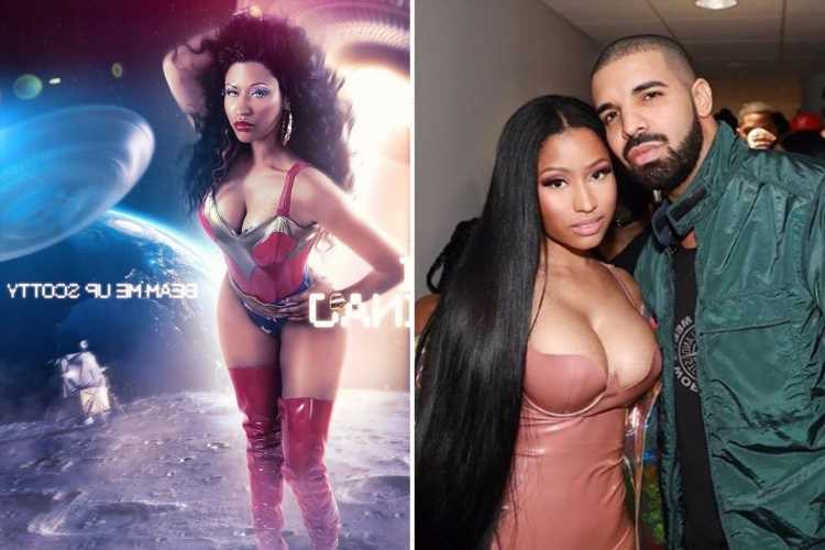 Nicki Minaj thrills fans as she re-releases Beam Me Up Scotty mixtape and drops Seeing Green track with Drake