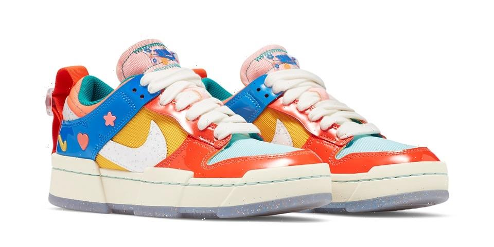 """Nike's Dunk Low Disrupt """"Kid at Heart"""" Is Full of Childlike Joy"""