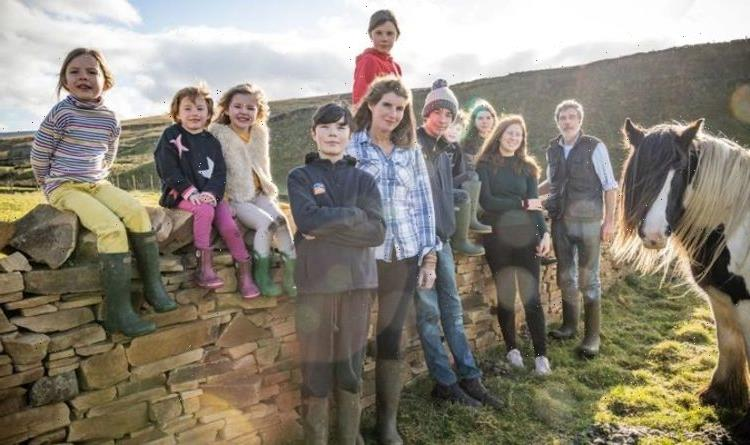 Our Yorkshire Farm: How old are Amanda and Clive's 9 children?