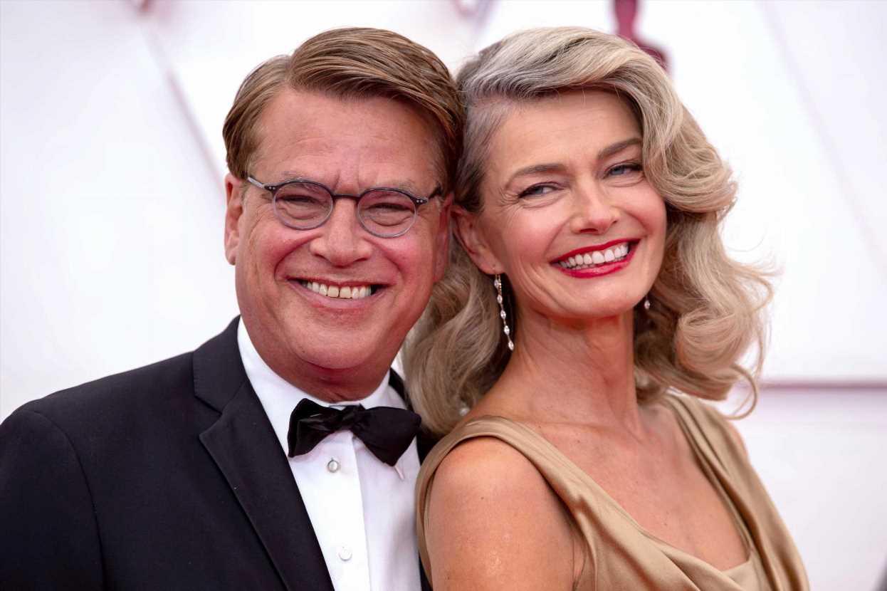 Paulina Porizkova calls Aaron Sorkin a 'great kisser'
