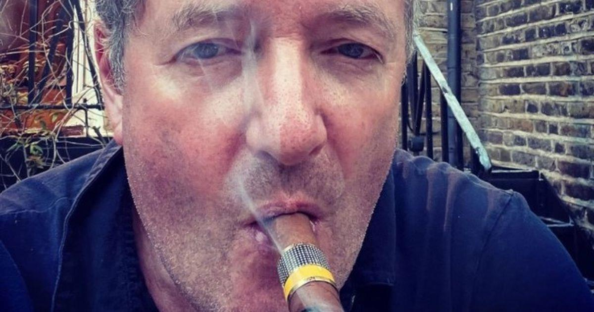 Piers Morgan fans gobsmacked as his dad, 80, looks like 'his younger brother'