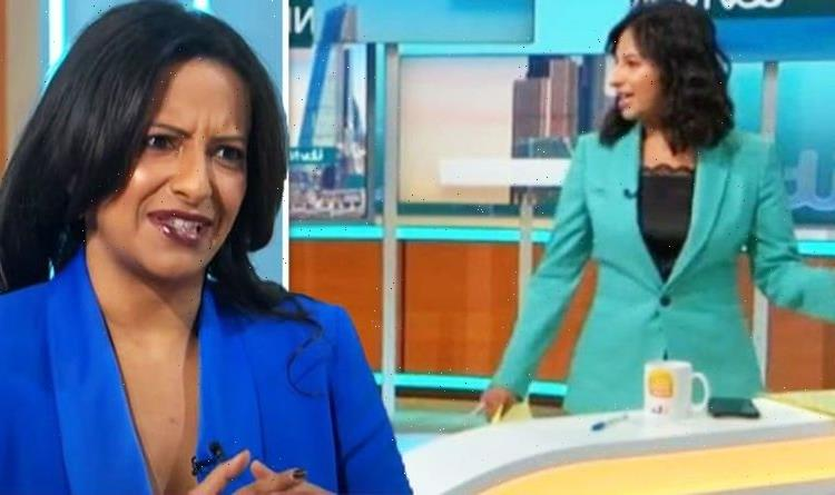 Ranvir Singh 'messes up' on Good Morning Britain before speaking out online about director