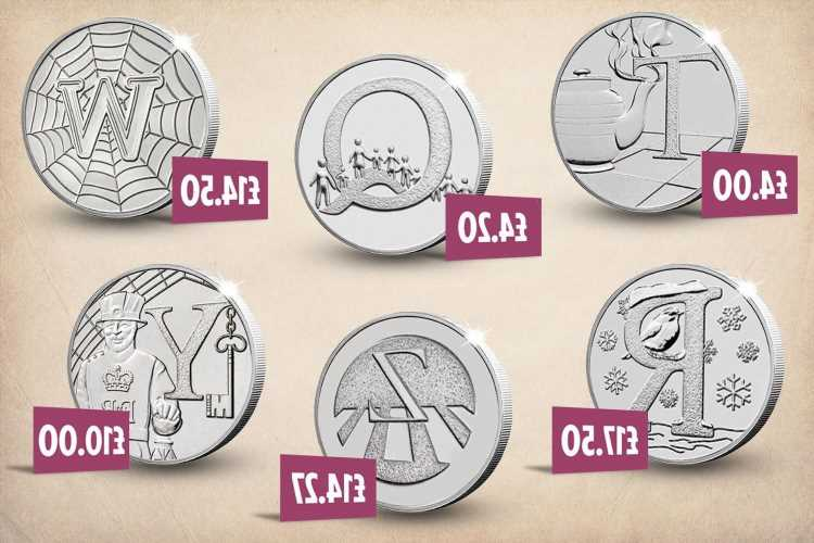 Rarest 10p coins in circulation including alphabet coin worth up to 175 times more than face value
