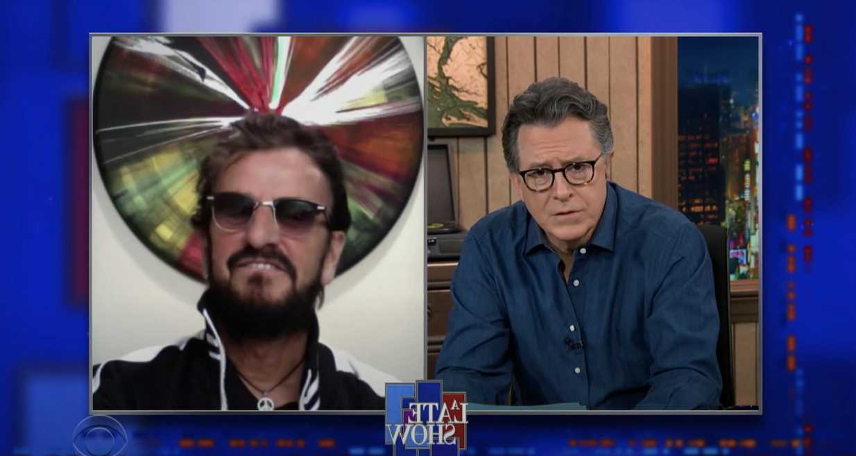 Ringo Starr Reveals Favorite Beatles Song, Thoughts on Afterlife on 'Colbert'