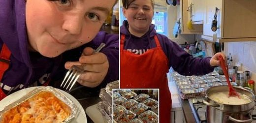 Savvy mum reveals how she cooks son's school lunch for just 15p a day