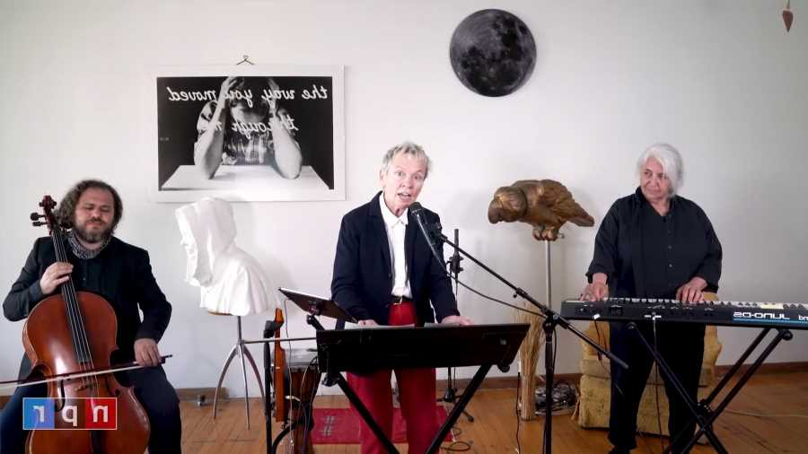 See Laurie Anderson Perform 'Big Science' Songs for 'Tiny Desk (Home) Concert'