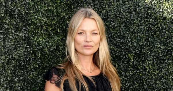 Supermodel Kate Moss auctions off footage of her 'naked' in bed for £12,000