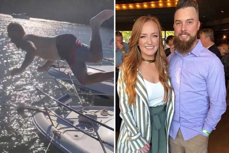 Teen Mom Maci Bookout's husband Taylor McKinney goes SHIRTLESS in video after being praised by fans for reunion fight