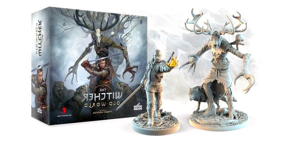 """'The Witcher: Old World"""" Board Game Raises $3.2 Million USD on Kickstarter"""
