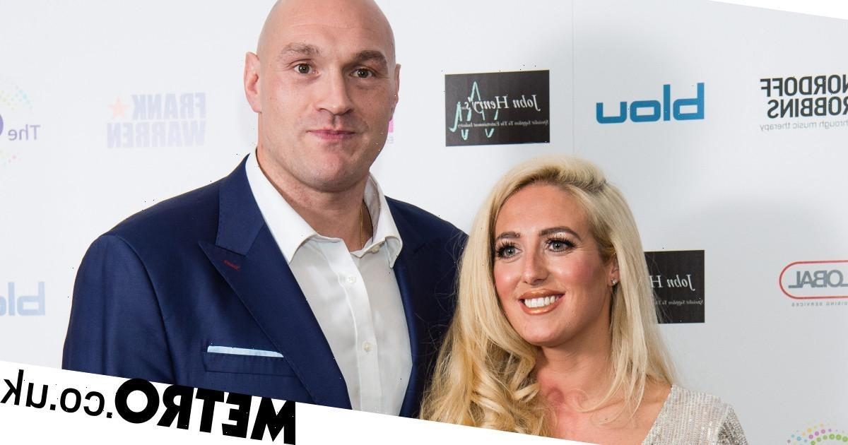 Tyson Fury dubs wife Paris his 'ride or die' after she takes off wedding ring